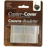 "Caster-Cover 6501B 2"" Caster Wheel Heat Shrink Floor Protector, 10/Pack (6501B)"