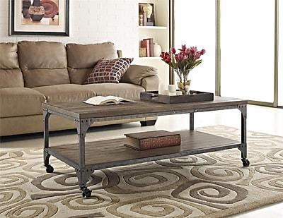Altra Furniture Cecil Wood Coffee Table, Brown, Each (5076096)