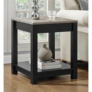 Altra Furniture Medium Density Fiberboard End Table, oak, Each (5046196PCOM)