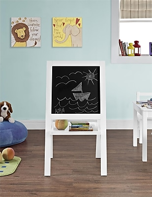 Cosco Hazel Kid's Floor Easel, White