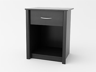 Altra Rockbridge Night Stand, Black Ebony Ash