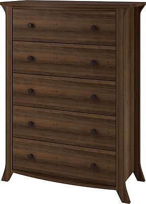 Altra Mercer Wine Cabinet with Multicolored Door Fronts, White (7465096P)