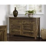 Altra Farmington 6 Drawer Dresser, Century Barn Pine (5685215PCOM)