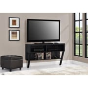 "Layton Wall Mounted 47"" TV Stand, Black Oak"