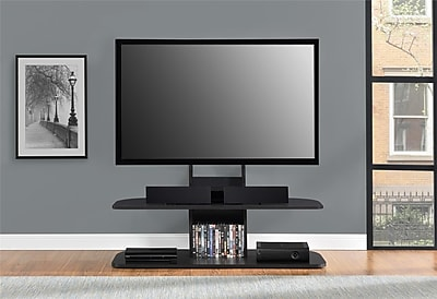Altra Galaxy 65 Tv Stand With Mount Black Staples