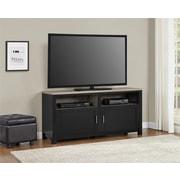 """Altra Carver 60"""" TV Stand, Black/Sonoma Oak (1753296PCOM)"""