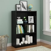 Altra Core 3 Shelf Bookcase, Black Ebony Ash (9424026PCOM)