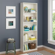 Altra 5 Shelf Bookcase, White (9425015PCOM)