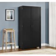 "Altra Carver 64"" Storage Cabinet, Black/Sonoma Oak (5278296PCOM)"