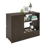 Cosco Elements Toy Box Bookcase with Door, Resort Cherry (5851207PCOM)