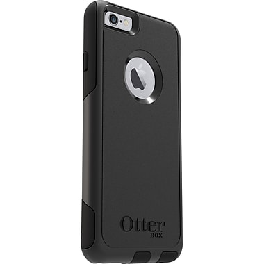 Otter Box® Commuter Series Pro 77-52833 Polycarbonate/Rubber Protective Case, Apple iPhone 6/6s, Black