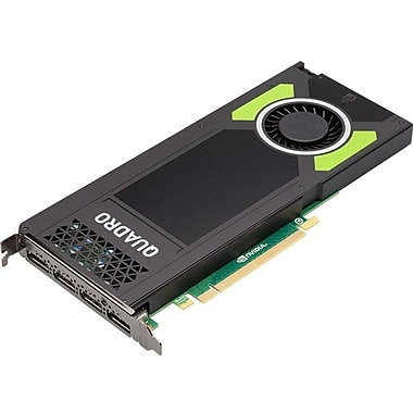 PNY Quadro M4000 Graphic Card, 8 GB GDDR5, PCI Express 3.0 x16, Single Slot Space Required, 256 bit Bus Width, (VCQM4000-PB)