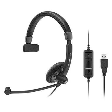 Sennheiser Culture Plus SC 40 USB MS Over-the-Head Headset, Black