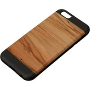 Man and Wood Protection Case for Use with iPhone 6/6S, Cappuccino (M1521B)
