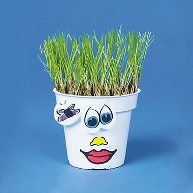S&S® Grassy Gertie Craft Kit, 50/Pack