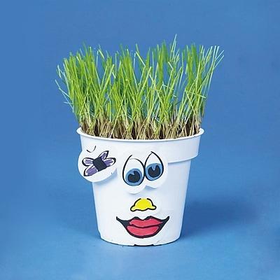 S&S® Grassy Gertie Craft Kit, 50/Pack