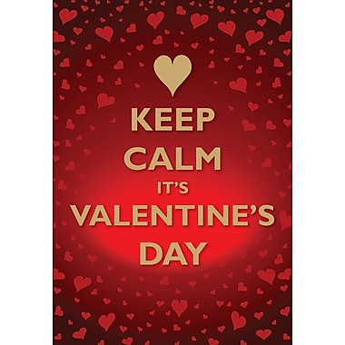Millbrook Greetings Card, Keep Calm It's Valentine's Day