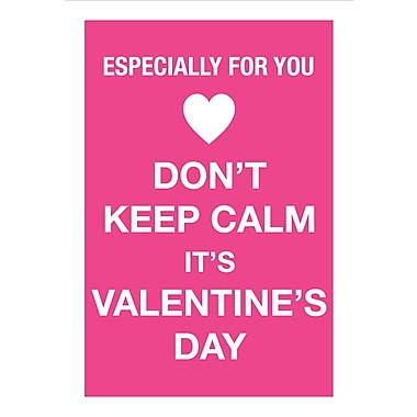Millbrook Greetings Card, Valentine's, Especially for You - Don't Keep Calm