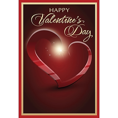 Rosedale Greetings Card, Happy Valentine's Day - Heart