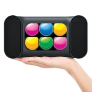 Mini Dancing Lights Bluetooth Speaker, Rubberized Black