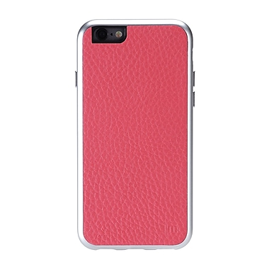 AluFrame Leather iPhone 6/6S Case, Pink