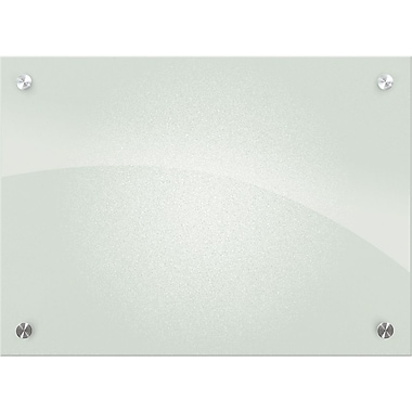 Best-Rite™ Enlighten™ Glass Dry-Erase Boards, Frosted Pearl, 18x24
