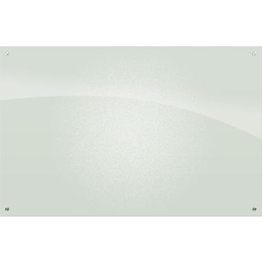 Best-Rite Enlighten, 4' x 6', Glass Frosted Pearl Dry-Erase Board (83952)