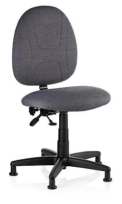SewErgo 150SE Grey Ergonomic Task Chair with Glides