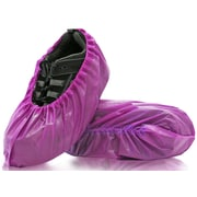 BlueMed Lilly Shoe Covers, Resistant, Universal, in Boxes, Purple, 300/Case