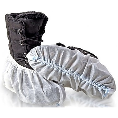 BlueMed Cosmic Shoe Covers, Universal, in Bags, White, 300/Case