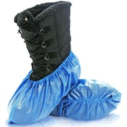 BlueMed Azure Shoe Covers, Waterproof and Anti-Skid, XL, in Boxes, Sky Blue, 300/Case