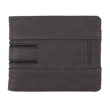 Roots RFID Slim Wallet, Mens, Dark Grey, RT19752-RN-G