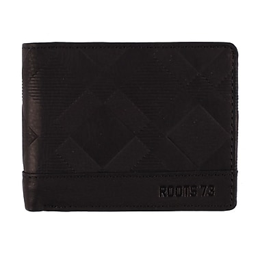 Roots RFID Slim Wallet, Mens, Black, RT20252-RN-B