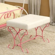 Hokku Designs Fairy Tale Metal Bench