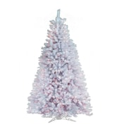 General Foam Plastics 6.5' White Artic Fir Artificial Christmas Tree w/ 600 Clear Lights