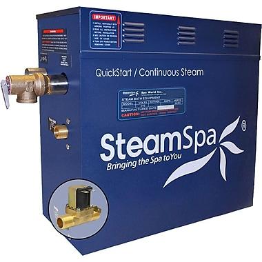 Steam Spa 4.5 kW QuickStart Steam Bath Generator w/ Built-in Auto Drain