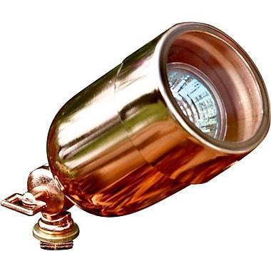 Dabmar Lighting 1-Light Spot Light; Copper