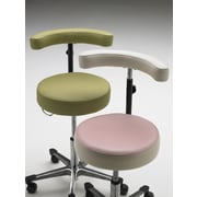 Intensa Guest Chair; Flat Aluminum Base with Toe Caps