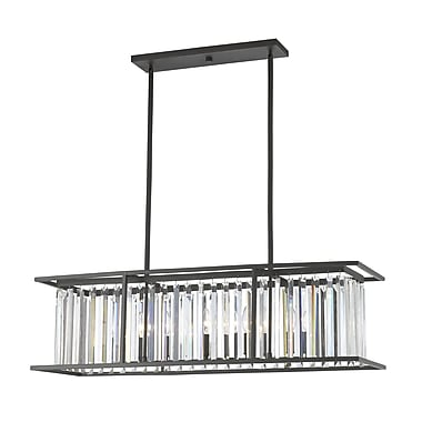 Z-Lite Monarch 6-Light Kitchen Island Pendant; Bronze