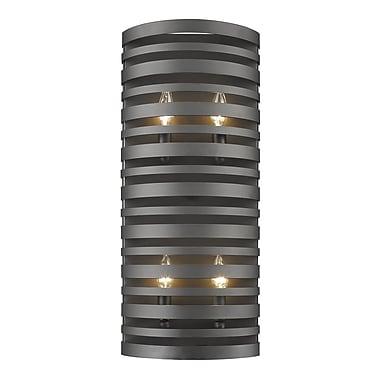 Z-Lite Memphis 4-Light Wall Sconce; Bronze