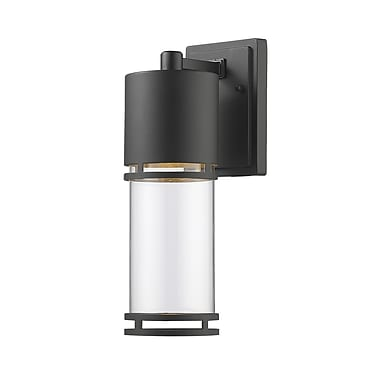 Z-Lite Luminata 1-Light Outdoor Sconce; Oil Rubbed Bronze