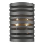 Z-Lite Memphis 2-Light Wall Sconce; Bronze
