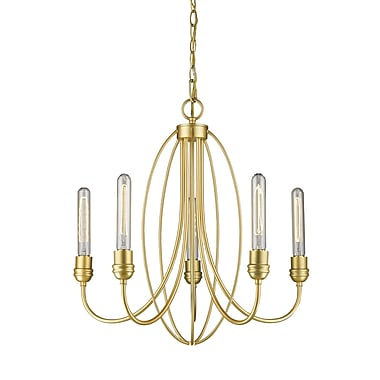 Z-Lite Persis 5-Light Candle-Style Chandelier