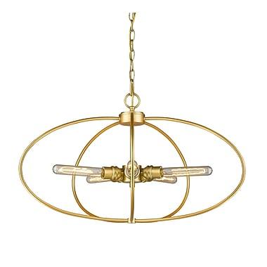 Z-Lite Persis 5-Light Globe Pendant