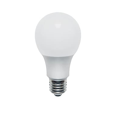 Northern Stars 80079 LED Light Bulb, A19 10W, Dimmable, Frosted, White, 10/Pack