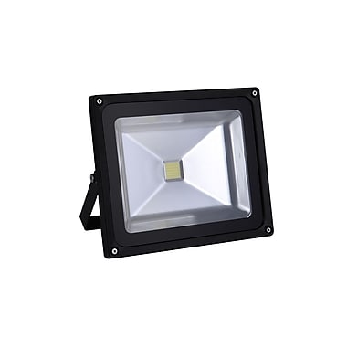 Northern Stars 93006 LED Light Bulb, Floodlight 110-277V 50W, Replace wallpack HPS and MH150W, 200W, 250W fixtures, Black