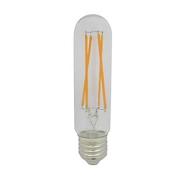 Northern Stars 90426 LED Light Bulb, T10 7W, Dimmable, Clear, White, 2/Pack