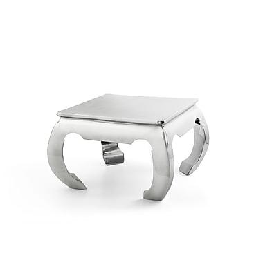 Beliani – Table à café DAKAR, 1 table d'appoint, aluminium