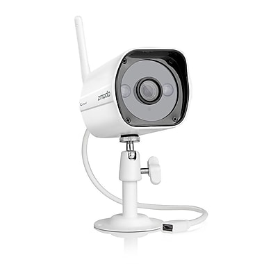 Zmodo – CA-SS7AD001-W Caméra Wi-Fi 720p à l'épreuve des intempéries