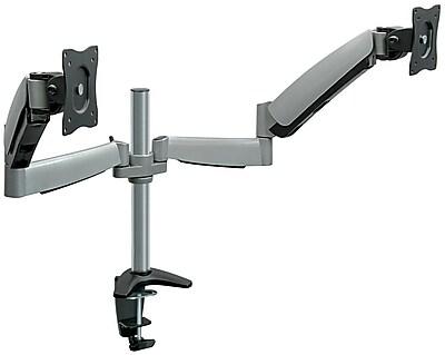 MountIt MI7C024 Dual Monitor Desk Mount Staples